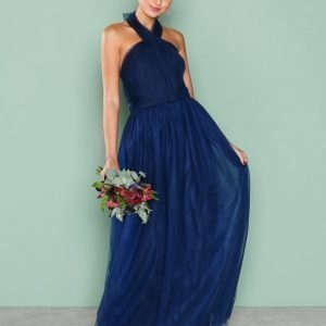 Chi Chi London Roberta Dress Maksimekko Navy