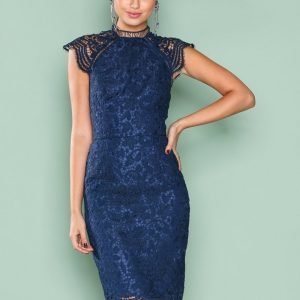 Chi Chi London Shannon Dress Kotelomekko Navy