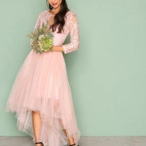 Chi Chi London Sierra Dress Maksimekko Rose Gold