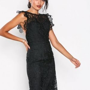 Chi Chi London Thea Dress Kotelomekko Black