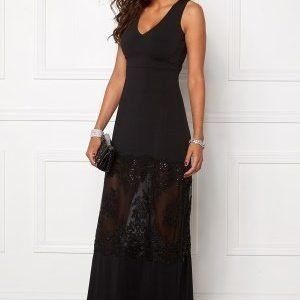 Chiara Forthi Aava Evening Gown Black