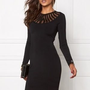 Chiara Forthi Alannah Bodycon Dress Black