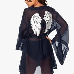 Chiara Forthi Angel Cover-Up Midnight blue / Offwhite