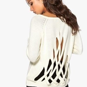 Chiara Forthi CrissCross Sweater Antique white
