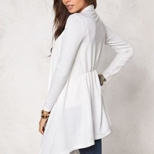 Chiara Forthi Dip Hem Cover-Up Cream