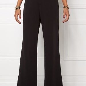 Chiara Forthi Eleganza Wide Pants Black