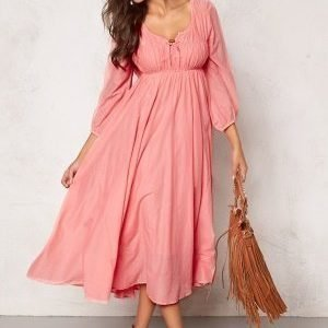 Chiara Forthi Flow Dress Blond Pink