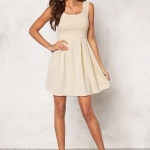 Chiara Forthi Fontana Skater Dress Light Beige