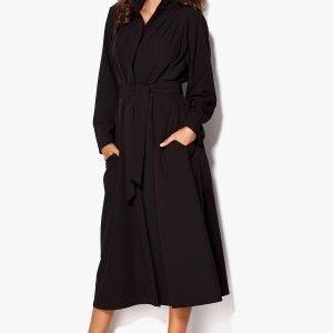 Chiara Forthi Futura Oversized Coat Black