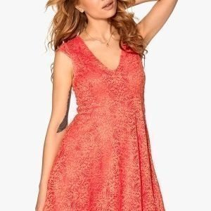 Chiara Forthi Goddess Dress Coral