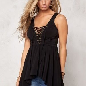 Chiara Forthi Henna Top Black