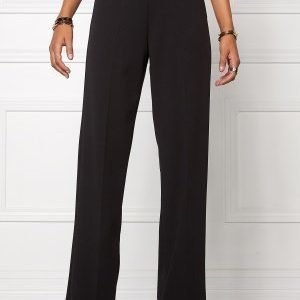 Chiara Forthi Highrise Stretch Trousers Black