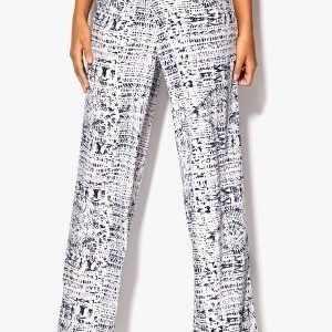 Chiara Forthi Highrise Wide Leg Pant Antique white / Blue 36L