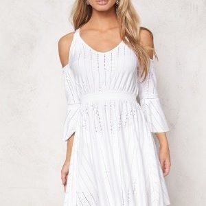 Chiara Forthi Intrend Bregje Dress White