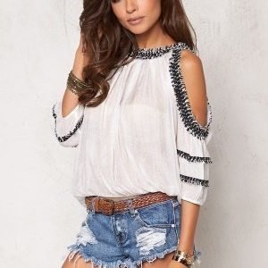 Chiara Forthi Intrend Ceylon Top White / Black