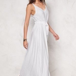 Chiara Forthi Intrend Lineisy Dress White