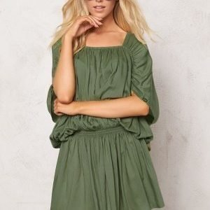 Chiara Forthi Intrend Modal Dress Khaki green