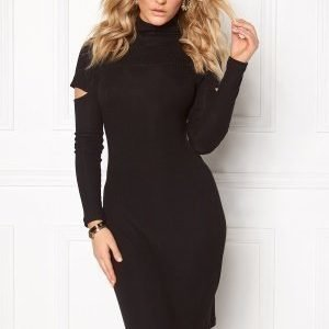 Chiara Forthi Intrend Peek-a-boo Dress Black