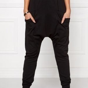Chiara Forthi Intrend Pocket Pantaloni Black