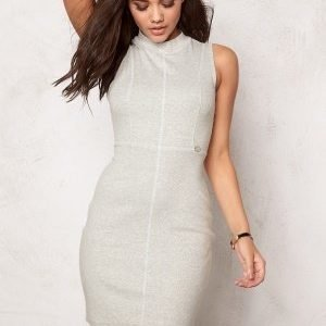 Chiara Forthi Intrend Ribbed Dress Marled Grey