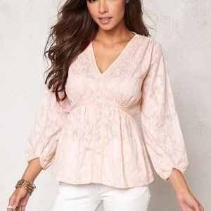 Chiara Forthi Intrend Tulip Sleeve Blouse Light pink