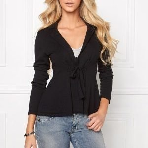 Chiara Forthi Kelly Cotton Cardigan Black