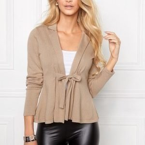 Chiara Forthi Kelly Cotton Cardigan Warm Taupe