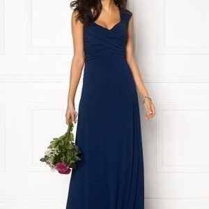 Chiara Forthi Kirily Maxi Dress Dark Blue