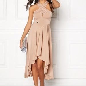 Chiara Forthi Lilou Drop Back Dress Sand