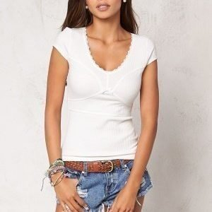 Chiara Forthi Lollipop Top Offwhite