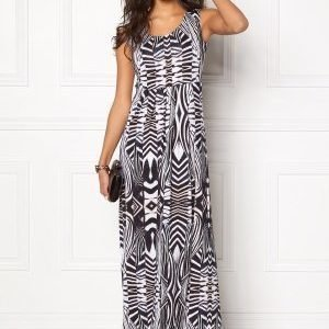 Chiara Forthi Malibu Dress Black / Patterned