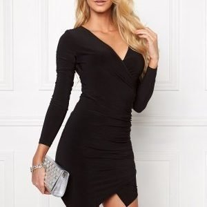 Chiara Forthi Mandy Wrap Dress Black