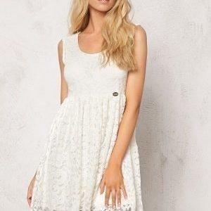 Chiara Forthi Principessa Dress Pearl white