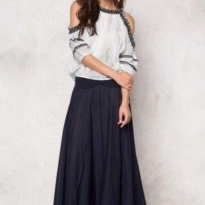 Chiara Forthi The Ultimate Maxi Skirt Midnight sky