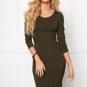 Chiara Forthi Trever Dress / Top Khaki green