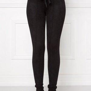 Chiara Forthi Ultra Soft Suede Pant Black