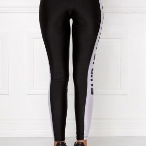 Chiara Forthi Vanilla Sporty Pants Black / White