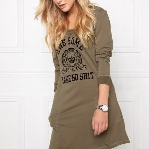 Chiara Forthi Weekend Long Shirt Military Green