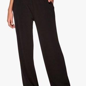 Chiara Forthi Wide Weekend Trousers Black