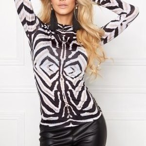 Chiara Forthi Zebu Top Black / White