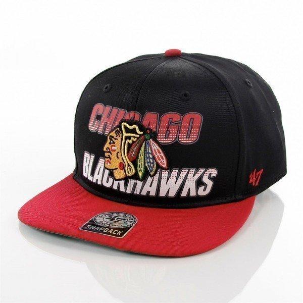 Chicago Black Hawks keps 47 brand BLWDN04CTP-BK