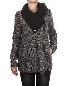 Chrissy Jacket Black Melange