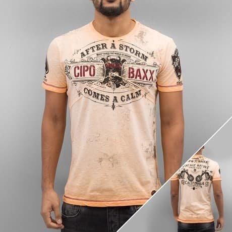 Cipo & Baxx T-paita Oranssi