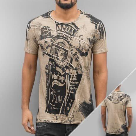 Cipo & Baxx T-paita Ruskea