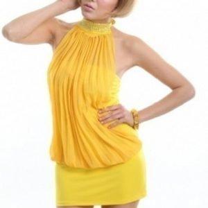 Clarissa keltainen toppi