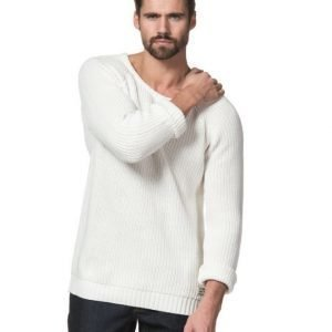 Clay Cooper Galleon Knitted Sweater Off White