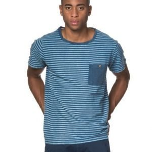 Clay Cooper Gunner Striped Tee Blue/White