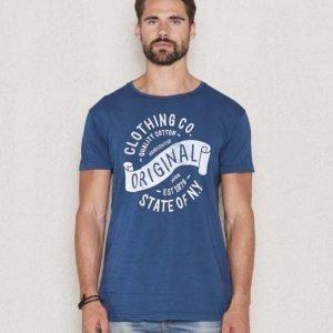 Clay Cooper Original T-shirt Blue