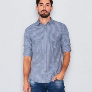 Clay Cooper Oscar Striped Shirt Blue