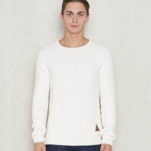 Clay Cooper Vessel Knitted Crewneck Off White